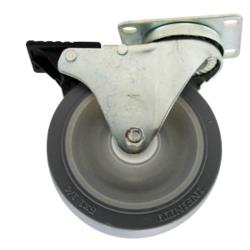 Rubbermaid - 4532-L2 - 5 in TradeMaster® Cart Swivel Caster with Brake image
