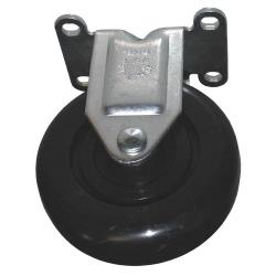 Rubbermaid - 4608-L4 - 4 in Cube/Spring Platform Truck Rigid Caster image