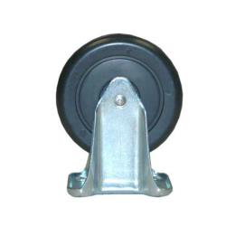 Rubbermaid - 4614-L4 - 5 in Cube/Spring Platform Truck Rigid Caster image