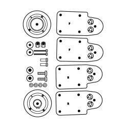 Rubbermaid - 6190-L1 - Bumper Kit image
