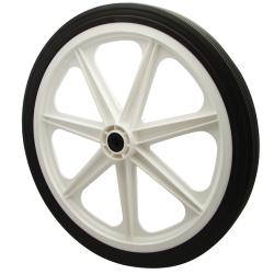 Rubbermaid - M1565400 - Wheel (7 Spoke) 10/5 Hard Rubber image