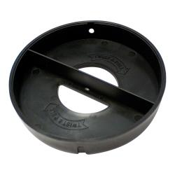 Dispense-Rite - 004ADJ2C-P - Black Plastic End Cap  image