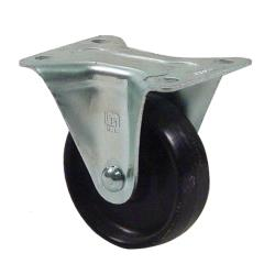 "Commercial - Rigid Plate Mount Caster w/ 3"" Wheel image"