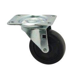 Rubbermaid - 3600-L4 - 3 in Trimeld® Ingredient Bin Swivel Plate Caster image