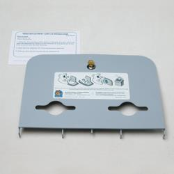 Koala - 466-01-KIT - Grey Liner Dispenser Lid Kit image