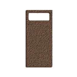 Rubbermaid - 3973-L2 - Landmark Series® Brown Container Stone Panels image