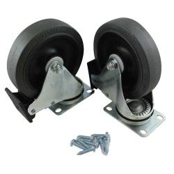 Rubbermaid - FG9W71L1GRAY - 5 in Gray Caster Kit image