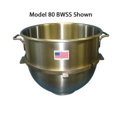 Alfa - 10VBWL - 10 Qt Stainless Steel Mixing Bowl image