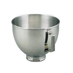 KitchenAid - K45SBWH - 4 1/2 Qt Stainless Steel Mixer Bowl image