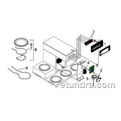 Bunn - CRTF5 - Bunn CRTF5 Series Electrical Parts image