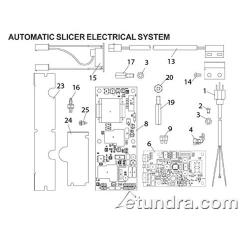 Globe - Globe 3850P & 3975P Automatic Slicer Electrical Parts image