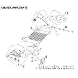 Globe - Globe C Series Slicer Chute Component Parts image