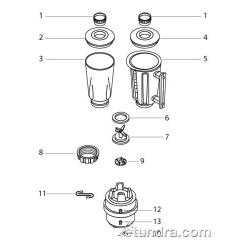Hamilton Beach 901 - 908 - 909 Blender Parts image