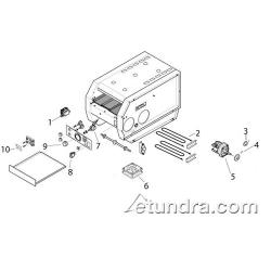Hatco - TQ-400 - Hatco TQ-400 Conveyor Toaster Parts image
