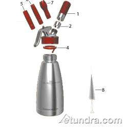 ISI - ISI Gourmet Whip Plus Whip Cream Dispenser Parts image