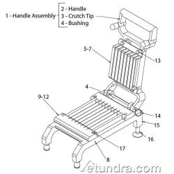 Nemco Chicken Slicer Parts image
