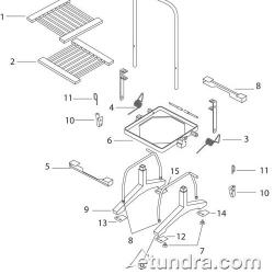 Silver King Lettuce Cutter Parts image