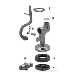 T&S Spray Valve Parts image