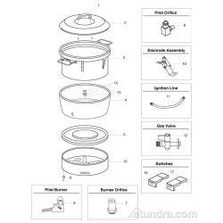 Town Rice Cooker Parts image