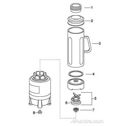 Waring 1/2 Gallon Blender Parts image