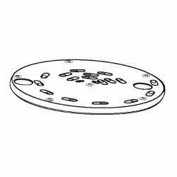 "Waring - 502997 - 3/16"" Shredding Disc  image"