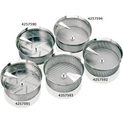 "World Cuisine - 42574-94 - #5 5/32"" Stainless Food Mill Sieve image"