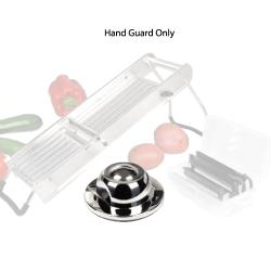 Winco - MDL-HD - Stainless Steel Mandoline Hand Guard image