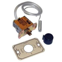"Commercial - Coil Sensing Refrigeration Thermostat W/ 21"" Capillary image"