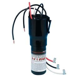Commercial - 115V 1/12 - 1/5 HP 3 in 1 Combination Capacitor image
