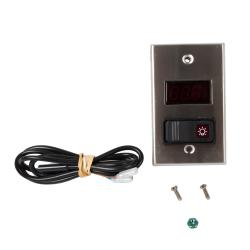 Allpoints Select - 8005001 - Thermometer/Light Switch Combo image
