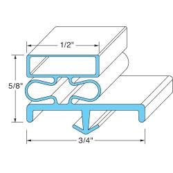 Delfield - 1701341 - Door Gasket image