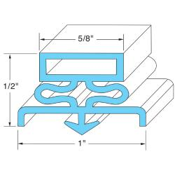 Original Parts - 741041 - 21 1/2 in x 29 1/2 in Door Gasket image