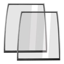 Metalfrio - C010784 - Curved Glass Lid - Set of 2 image