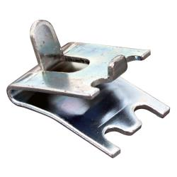 Allpoints Select - 23202 - Plated Steel Shelf Clip w/ Tab image
