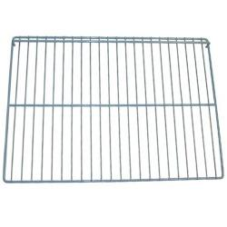 Allpoints Select - 262641 - 22 1/2 in x 16 in Silver Epoxy Wire Refrigerator Shelf image