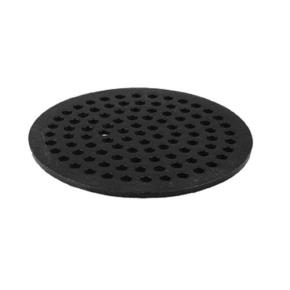 Commercial 8 round cast iron floor drain strainer etundra for 10 inch floor drain cover