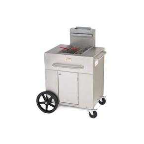 Crown verity pf 1 portable outdoor fryer w single tank Outdoor kitchen equipment