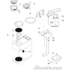 Bunn Parts Diagram besides T24662046 Fix bottom sprayer bissell pro heat pet together with Wiring Diagram For Bunn Coffee Maker as well Bunn Vpr Vps Series Parts together with  on keurig 2 0 parts diagram schematic