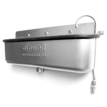 13202 - Dipwell Company - D15S - 15 in Side Mount Dipperwell Product Image