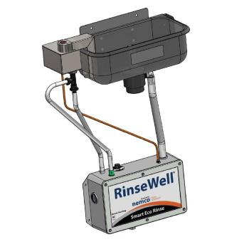 NEM300010 - Nemco - 3000-10 - 10 in Smart Eco-Rinse Dipper Well w/ RinseWell® Controller Product Image