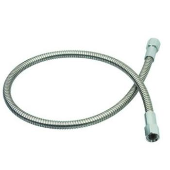26369 - T&S Brass - 013E-48H - 48 in Flexible Stainless Steel Hose Product Image