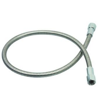 TSB013E72H - T&S Brass - 013E-72H - 72 in Flexible Stainless Steel Hose Product Image