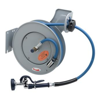 TSBB723201 - T&S Brass - B-7232-01 - 3/8 in x 35 ft Hose Reel System w/ Spray Valve Product Image
