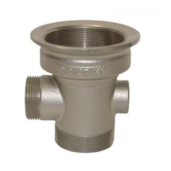 11934 - CHG - D10-X007 - 2 in x 3 in Drain Outlet Body with Removable Cap Product Image