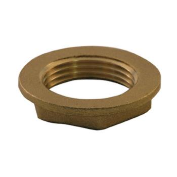 11943 - CHG - E02-4090-BR - 1 in Brass Drain Nut Product Image