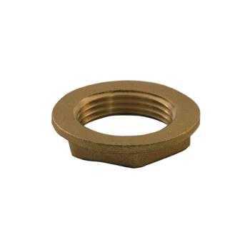 11944 - CHG - E02-4091-BR - 1 1/2 in Brass Drain Nut Product Image