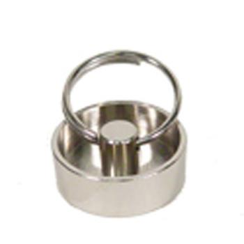 11348 - CHG - E60-4082 - 1 in Plated Brass Drain Stopper Product Image