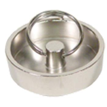 11349 - CHG - E60-4085 - 1 1/2 in Plated Brass Drain Stopper Product Image
