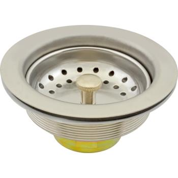 1021064 - Axia - 16508 - 3 1/2 in Stainless Steel Drain Assembly Product Image