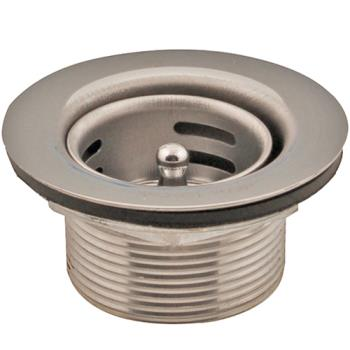 12114 - Axia - 16539 - 1 1/2 in Stainless Steel Drain Assembly Product Image